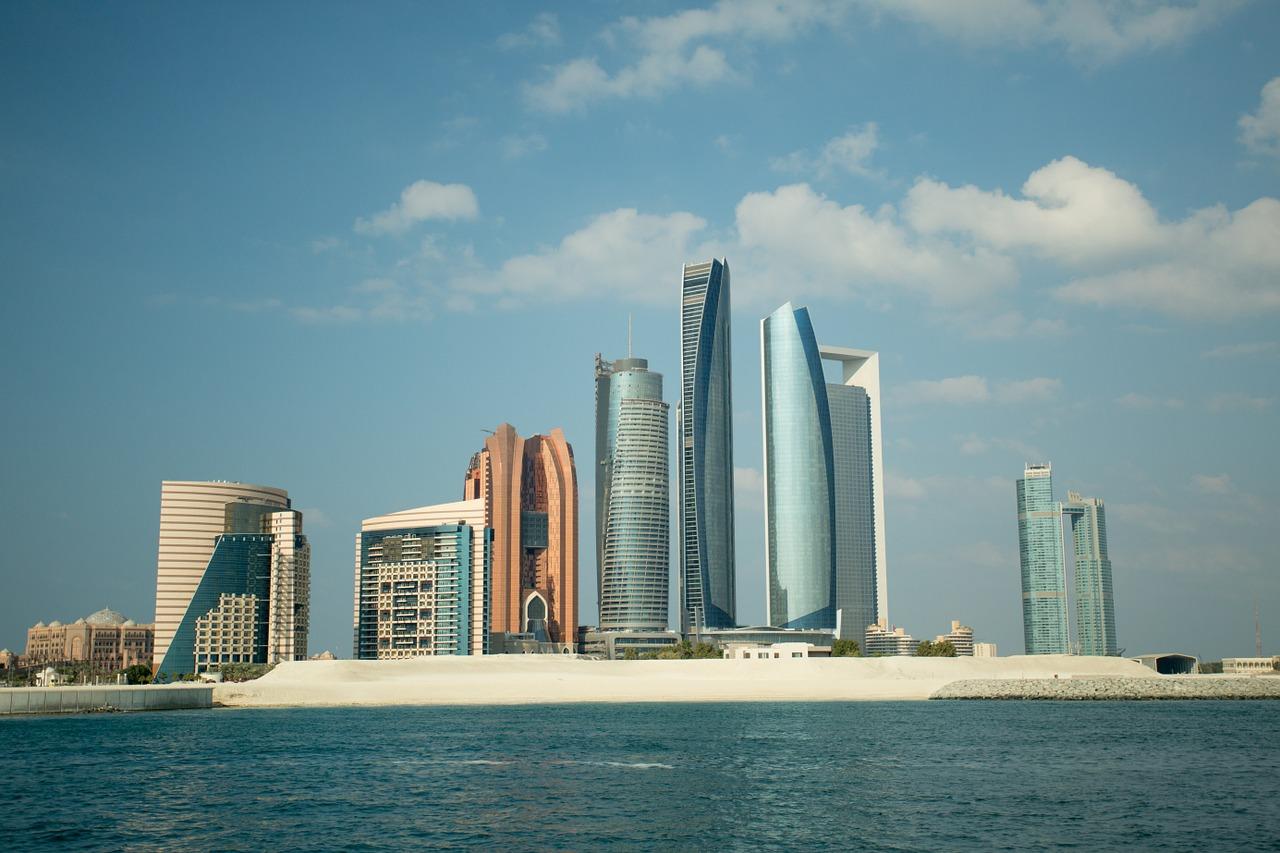 abu dhabi, city, skyline