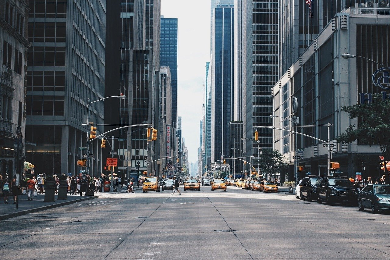 city, street, urban