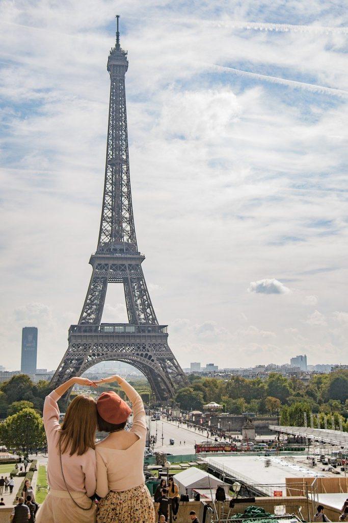 eiffel, tower, paris